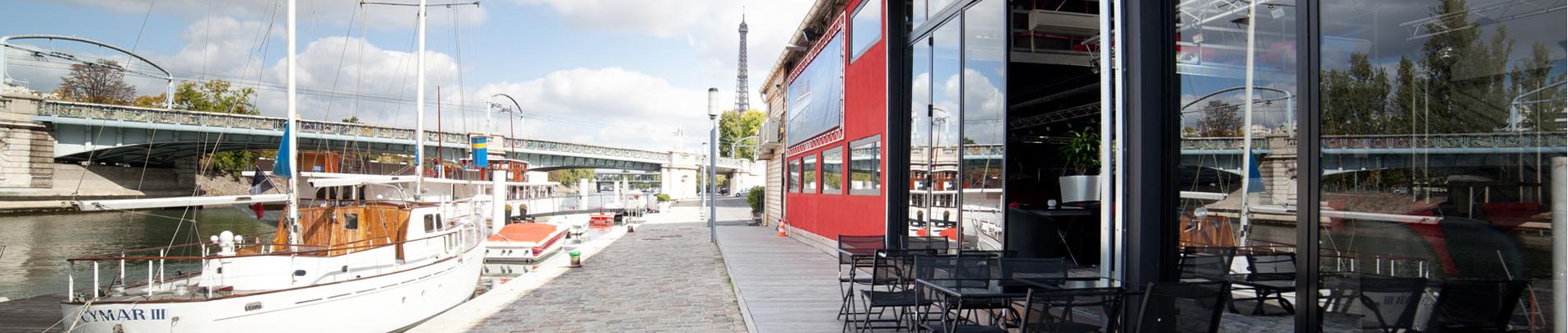 Découvrez nos espaces évènementiels sur la Seine